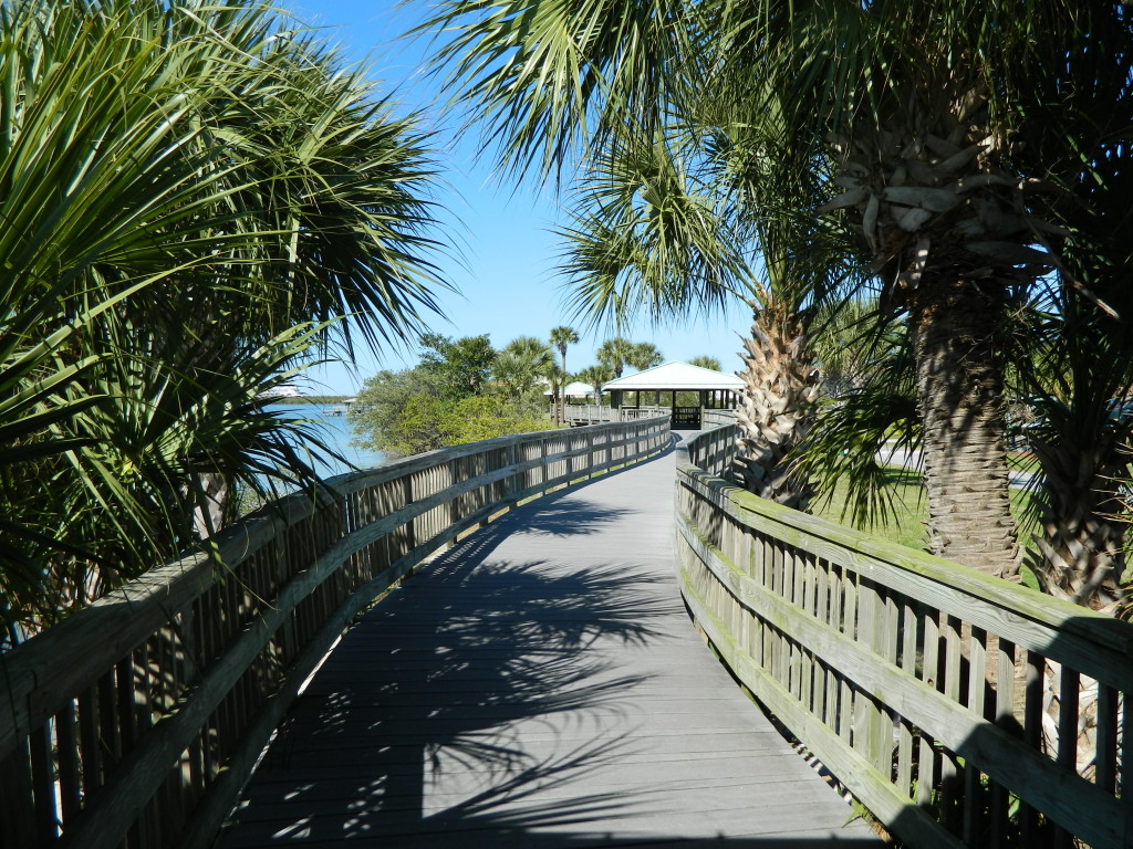 Manatee Sanctuary Park Boardwalk